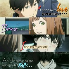 Orange Anime quotes Animequotes Kakeru noha