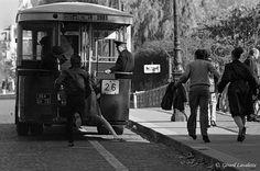 Prendre le bus en marche Pont Louis-Philippe