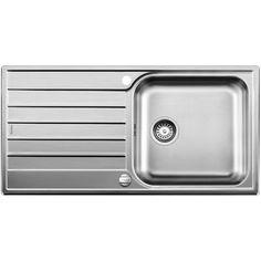 CHIUVETA DE BUCATARIE BLANCO LIVIT XL 6 S 18/10 FINISAJ INOX PERIAT ,MONTAJ CLASICA PE BLAT CU MARGINE SI PROFIL CONVENTIONAL - Iak Steel Kitchen Sink, Kitchen Mixer Taps, Sink Mixer Taps, Blanco Kitchen Sinks, Blanco Sinks, Stainless Steel Kitchen, Brushed Stainless Steel, Ordinateur Portable Asus, Machine A Cafe Expresso