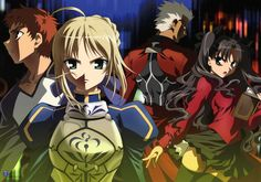 Fate Stay Night – Anime Tribute AMV, Gallery, Gifs (Video)
