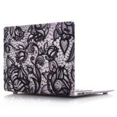 Coque MacBook Pro 15 avec Touch Bar - Henna Flower