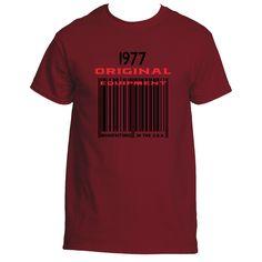 1977 Barcode Ultra Cotton® T shirt designs | Underground Statements