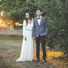 fall bride and groom inspiration Obsessed with this dress