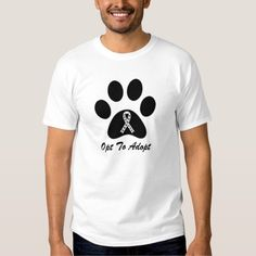 Opt To Adopt Animal Rescue T-Shirt