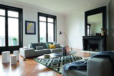 Peinture salon : 43 couleurs tendance pour repeindre le salon - Côté Maison
