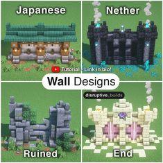 Minecraft Images, Cute Minecraft Houses, Minecraft Room, Minecraft Plans, Minecraft House Designs, Amazing Minecraft, Minecraft Tutorial, Minecraft Blueprints, Minecraft Crafts