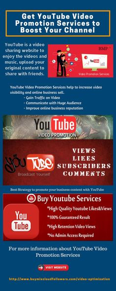 64 Best YouTube Video Promotion Services images in 2019
