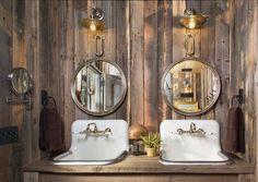 Aspen Springs Ranch by Beck Building Company Mountain Living, Mountain Homes, Dream Bathrooms, Amazing Bathrooms, Ranch Farm, Texas Ranch, Cottage Design, House Design, Colorado Cabins