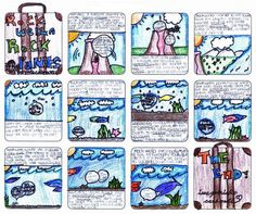 Rock Cycle Comic Strip Examples - change topic but cute idea to show their understanding in a fun way Rock Science, Fourth Grade Science, Elementary Science, Middle School Science, Science Classroom, Teaching Science, Science Education, Science Activities, Science Projects