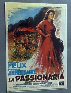 CARTOLINA LA PASSIONARIA MARIA FELIX PEDRO ARMENDARIZ- EDITIONS NUGERON | eBay