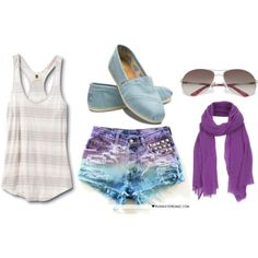 I want this outfit in my closet<3 LOVE for summer