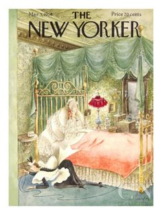 The New Yorker Cover - March 3, 1956 Premium Giclee Print