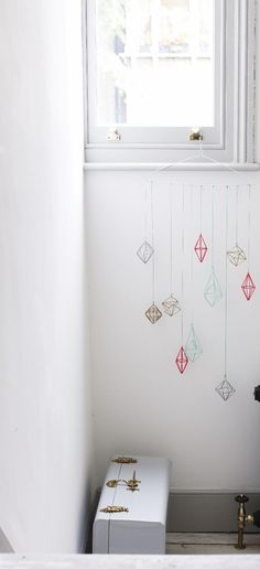 Make shapes and decorate your Christmas tree with our Silver Geo Wire Xmas Decoration for some minimalist urban style Hanging Decorations, Christmas Decorations, Oliver Bonas, Urban Style, Vintage Diy, Christmas Home, Fun Projects, Decor Crafts, Geo