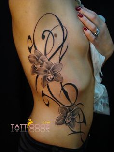 Popular Flower Tattoos and Piercing Ideas Including Latest Tattooing Gallary For more Visit http://tattoooz.com/butterfly-and-flower-tattoo-designs-on-tumblr/