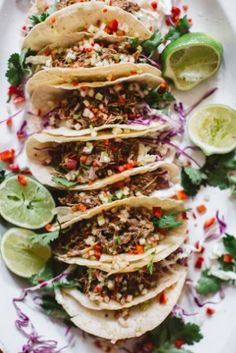 Chipotle Pork or Chicken Tacos with Pineapple Salsa