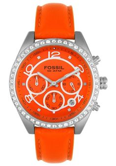 Fossil WATCH - Orange