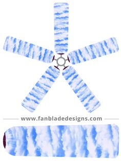 Sit and watch the clouds go by with a set of Clouds fan blade covers. Cool and breezy, they'll keep your fans looking airy, calming and clean! - Constructed from a quality, lightweight blend of polyes