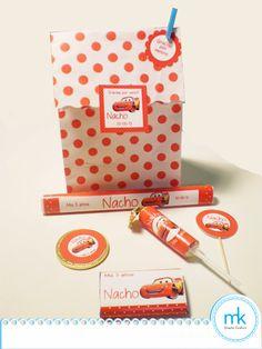 Bolsita sorpresa de Cars Party Favours, Favors, Goodies, Souvenirs, Events, Presents, Guest Gifts, Gifts, Little Gifts