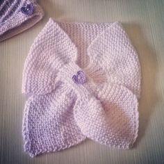 Sciarpa incrociata bimba - lotus scarf