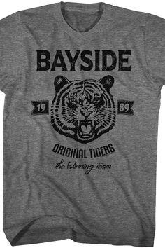 Saved By The Bell 1989 Tiger Face T-Shirt