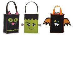 Mud Pie Halloween Baby Girl or Boy Felt Trick or Treat Candy Bag  $8.99 Sold at Baby Family Gifts Ebay
