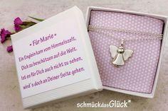 Taufschmuck - Schutzengel Engel in Silber Taufe Taufgeschenk  - ein Designerstück von schmueckdasGlueck bei DaWanda