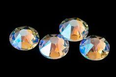 Swarovski 2088 Crystal Shimmer Flat Back Rhinestones Sparkle Flats, Crystal Rhinestone, Rhinestones, Swarovski, Etsy Shop, Chain, Crystals, Vintage, Color