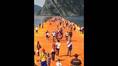 Christo's Floating Piers on Lake Iseo photo album