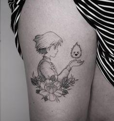 Web Tattoo: Thigh Tattoo: 120 Ideas For You To Think About Your Next Tattoo Ink Tattoo, Manga Tattoo, Anime Tattoos, Piercing Tattoo, Body Art Tattoos, Sleeve Tattoos, Small Tattoos, Tattoos On Thighs, Geisha Tattoos