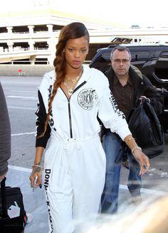 Rihanna street style 2012