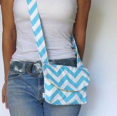 Small Cross Body Bag. Design your Own. Chevron Bag. by SmiLeStyles, $28.00 #crossbodybag #kindle #fashion