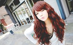 i want her hair #ulzzang