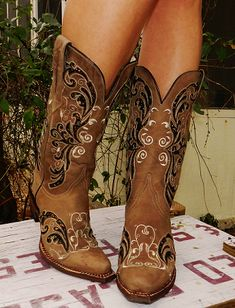 Cowgirl Boots. Want for my upcoming birthday!