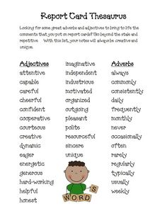 Parents comments on report cards        images about Report Card Comments CofP on Pinterest   Ontario  Teaching and Report cards