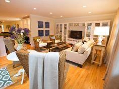 Contemporary | Living Rooms | Lori Dennis : Designer Portfolio : HGTV - Home & Garden Television