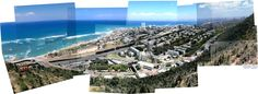 Bat-Galim, Haifa, from the Stella Maris viewpoint (2014, Zoomed)