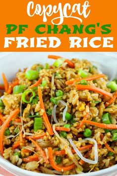 Easy Chicken Fried Rice is a quick and simple dinner you can make any night of the week. This stir fry is ready in just 30 minutes, full of healthy vegetables and kid-friendly, too – you can even make it if you don't have any leftover rice on hand! Easy Rice Recipes, Easy Dinner Recipes, Healthy Recipes, Asian Recipes, Easy Meals, Cooking Recipes, Easy Chinese Recipes, Arabic Recipes, Thai Street Food