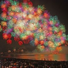 Fireworks at Kumano, Wakayama-Pref.  Wish I'd been there for that!!