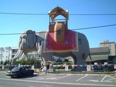 Lucy The Elephant, Margate, NJ.  Photo by: Dave P.