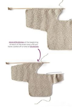 How do I create a knitted kimono baby jacket? How do I create a knitted kimono baby jacket? , How to make a Knitted Kimono Baby Jacket - Free knitting Pattern & tutorial , Knit Source by mikkipon. Knitting For Kids, Baby Knitting Patterns, Baby Patterns, Free Knitting, Baby Leggings Pattern, Jacket Pattern, Kimono Pattern, Baby Kimono, Pull Bebe