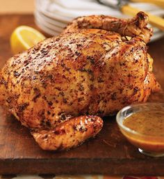 Tuscan Garlic & Herb Whole Roasted Chicken | 16 Christmas Dinner Ideas ...