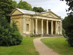 Temple Greenhouse built for the Earl of Conventry by Robert Adam at Croome Court…