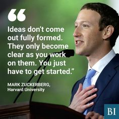 """1,078 Likes, 7 Comments - Business Insider (@businessinsider) on Instagram: """"Mark Zuckerberg delivered the commencement address to the graduating class at Harvard University.…"""""""