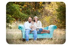 family photography, couch in field, fall photography session, family pictures