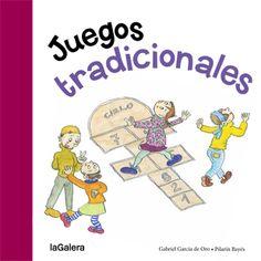 Deu jocs tradicionals explicats pas a pas i il·lustrats per la genial Pilarín Bayés. La xarranca, enfonsar vaixells, Un dos tres pica paret, la gallineta cega...