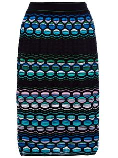 M Missoni - patterned skirt