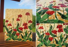DIY Eggshell Mosaics   IKEA Decoration