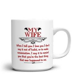 it has also husband and wife mug..i also love this ...like and love pin