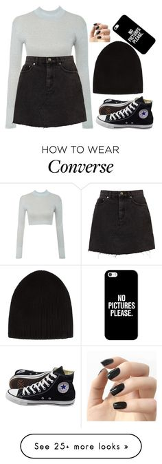 """"""""""" by hannahmcpherson12 on Polyvore featuring rag & bone, Converse, Incoco and Casetify"""