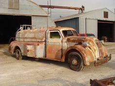 rat truck Dodge....Airflow.... what an amazing find